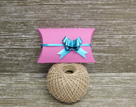 Bright Pink funky pillow gift box