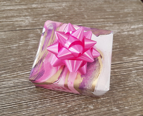 Luxury Pink Marbled Wrapping Paper