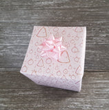 Girly Pastel Pink Christmas Paper