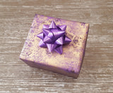 Purple and Gold Luxury Gift Wrap Sheets-Purple Wrapping Paper