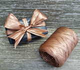 Pretty Copper Raffia