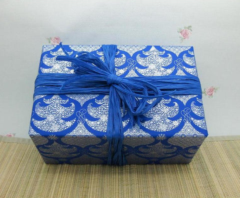Soft Fine Rayon Raffia Royal Blue