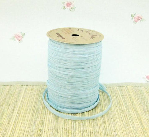 Soft Fine Raffia Pale Ice Blue