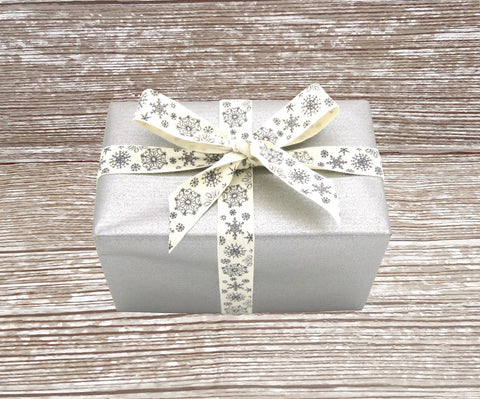 Matte Silver Kraft Wrapping Paper