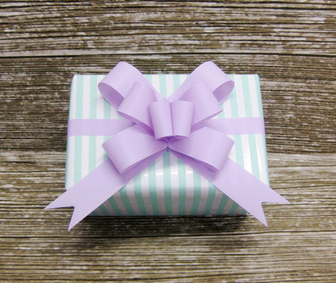 Pastel Stripe Gift Wrap - Mint Green and White - Giftwrapit