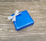 Electric Blue Glossy Wrapping Paper Roll-Bright Blue Plain Paper