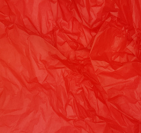 Red Tissue Paper Sheets-Xmas Tissue Paper