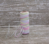 Rainbow Pastel Twine Gift Wedding Favors