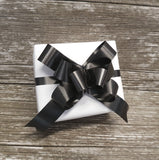 Plain White Wrapping Paper-White Leather-look Gift Wrap