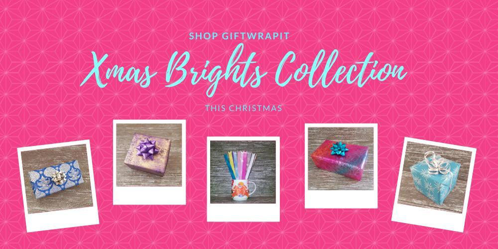 Brightly Coloured Xmas Gift Wrapping Ideas