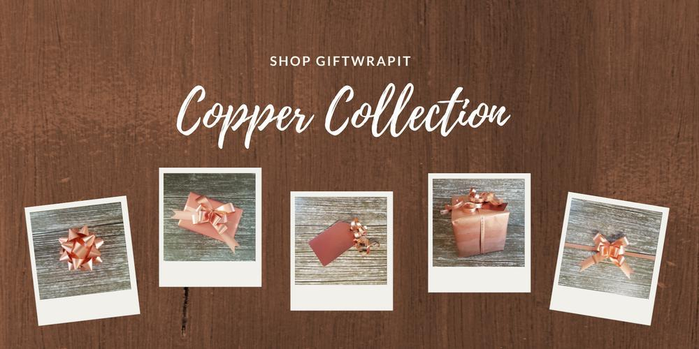 Copper Gift Wrapping-Rose Gold Gift Wrapping