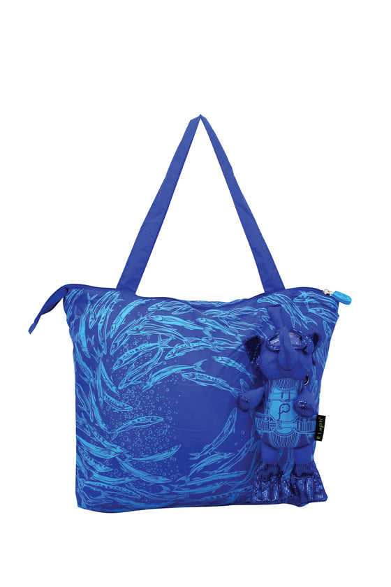 ELEPH SWIRL Diving - M : Navy / Blue