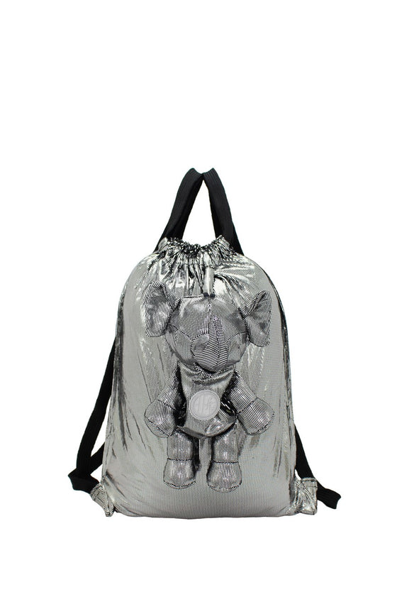 ELEPH DISCO - BACKPACK : Silver