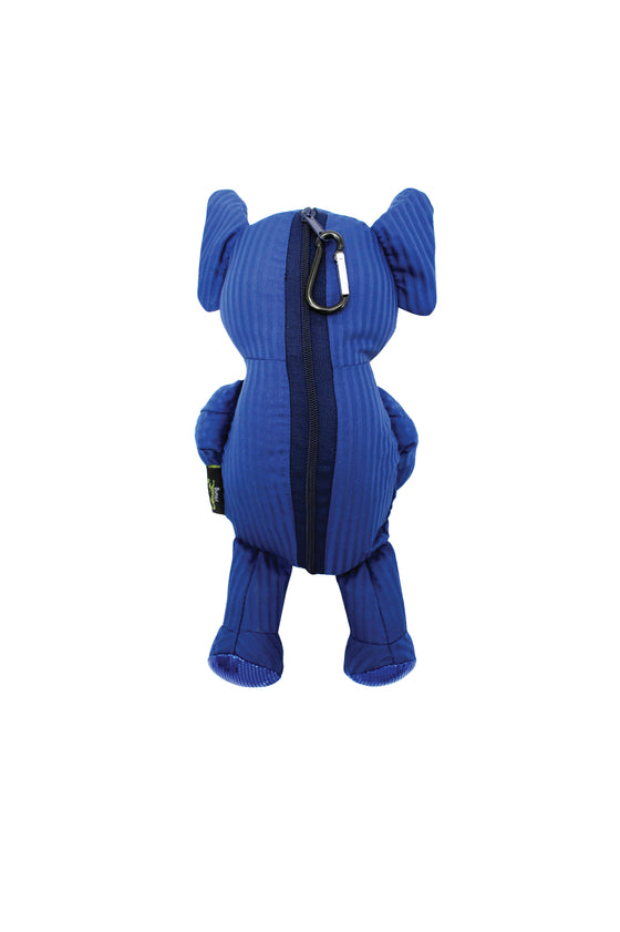 ELEPH FOLDABLE PLEAT - BACKPACK : Blue