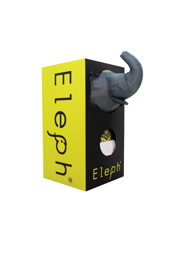ELEPH CHALU - L : Grey / Yellow