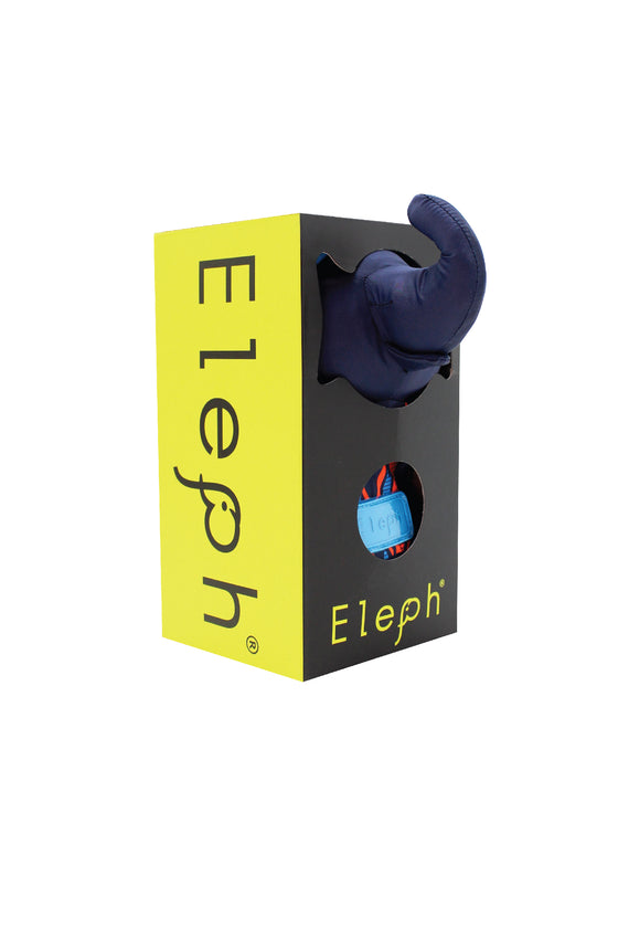 ELEPH MUDMEE - L : Navy / Orange , Blue
