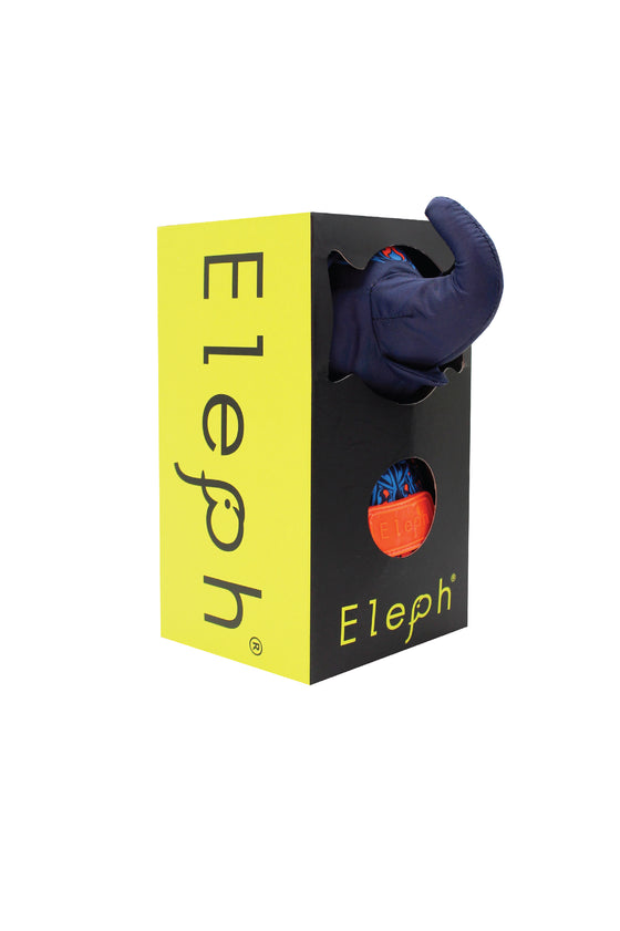 ELEPH PUDTARN - L : Navy / Orange , Blue