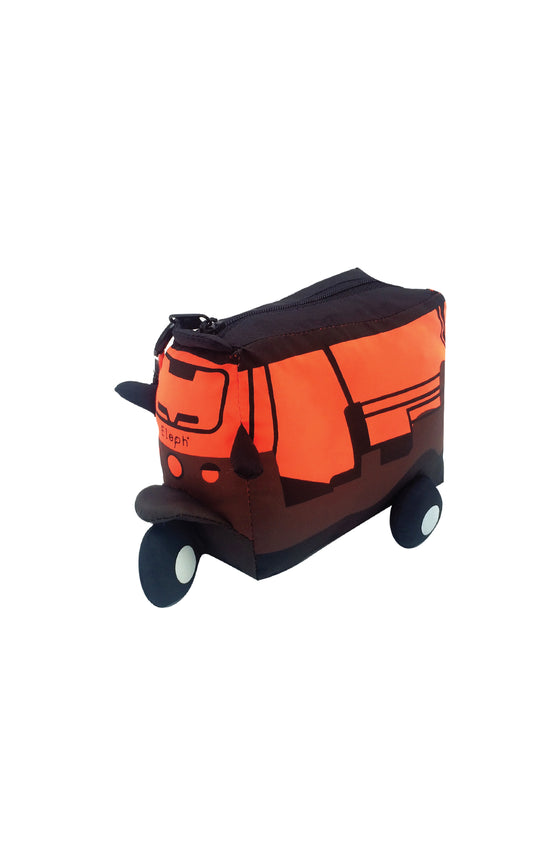 TUK TUK FOLDABLE AARON - L : Brown / Orange