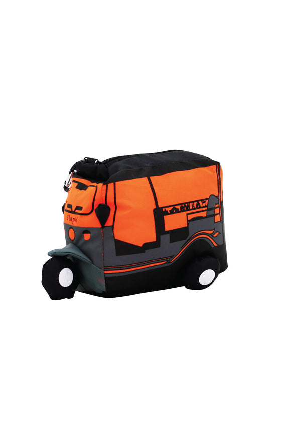 TUK TUK FOLDABLE ASIA - L : Grey / Orange