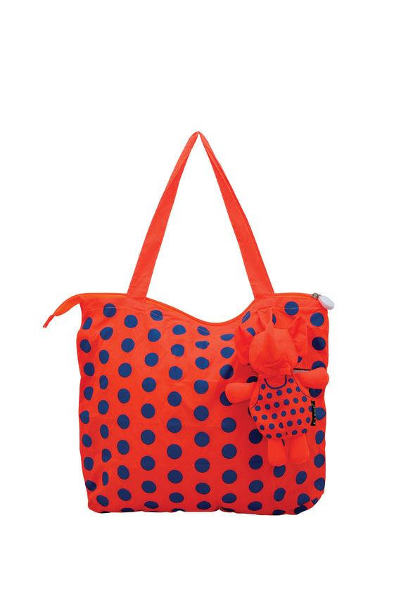 ELEPH POLKADOT - M : Orange / Blue