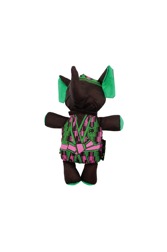 ELEPH MUDMEE - M : Chocolate / Green , Pink