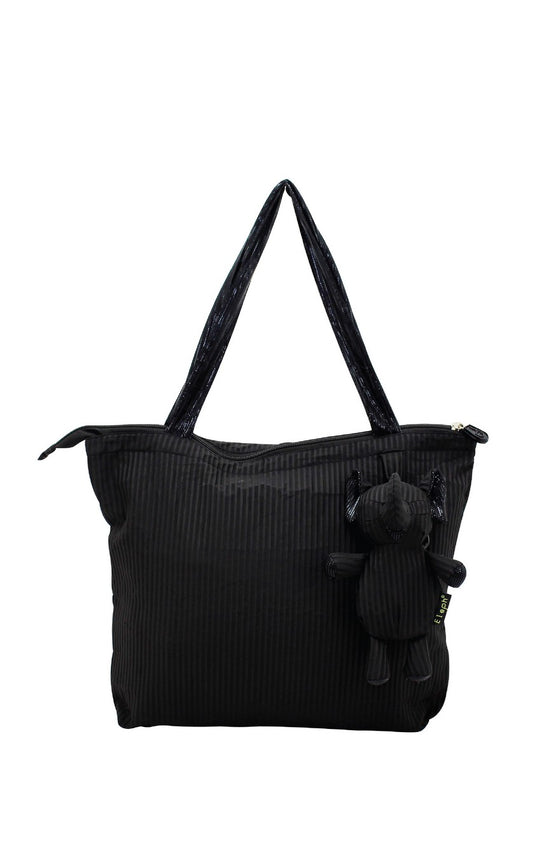 ELEPH FOLDABLE PLEAT - M : Black