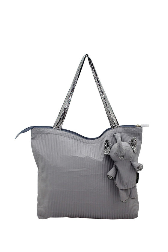 ELEPH FOLDABLE PLEAT - M : Grey