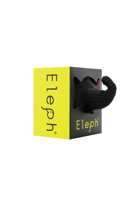 ELEPH FOLDABLE PLEAT - POUCH : Black