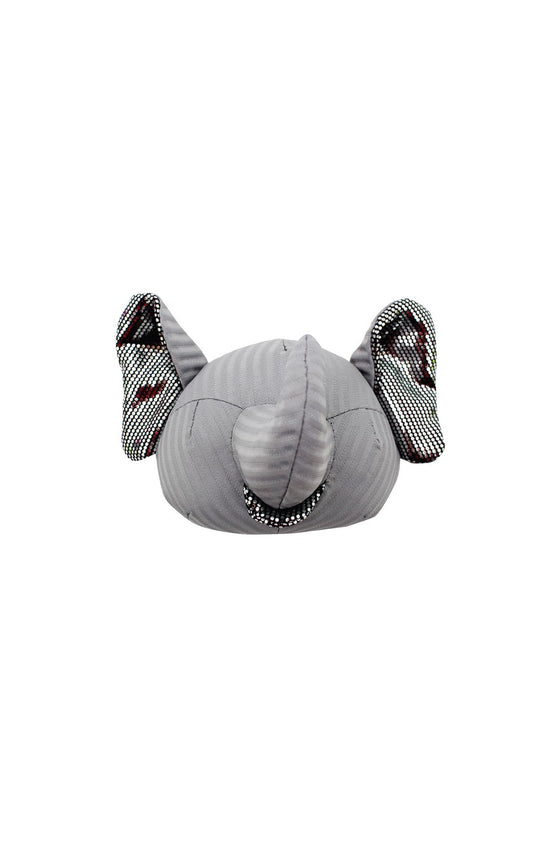 ELEPH FOLDABLE PLEAT - POUCH : Grey