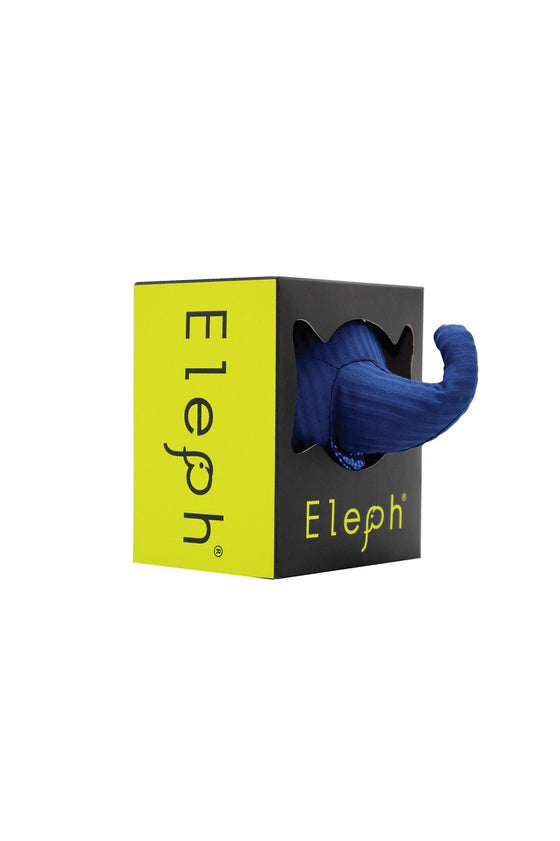 ELEPH FOLDABLE PLEAT - POUCH : Navy