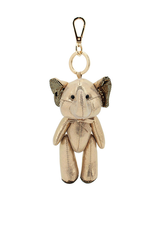 ELEPH DISCO DOLL KEY RING : Gold