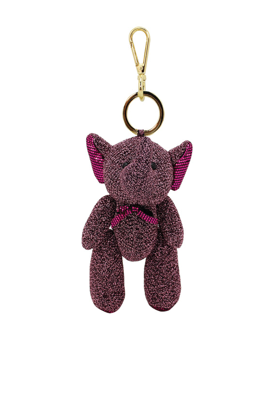 ELEPH GLIT DOLL KEY RING : Pink