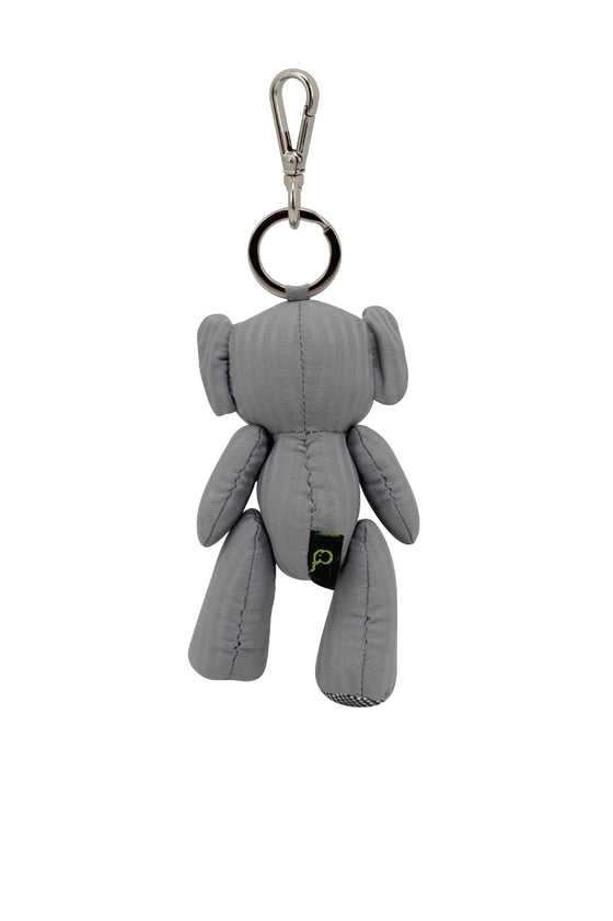 ELEPH PLEAT DISCO DOLL KEY RING : Grey