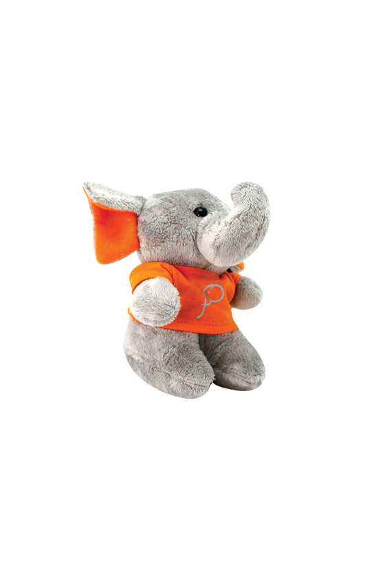 ELEPH FUR DOLL - XS : Orange