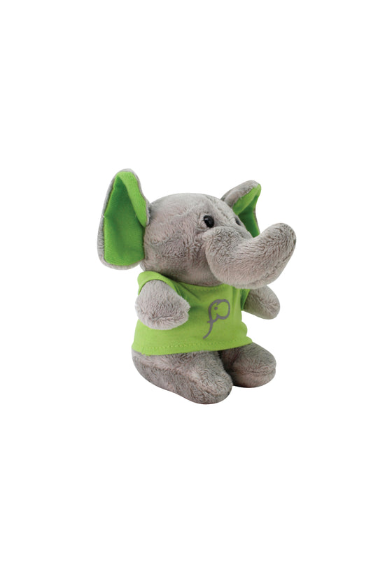 ELEPH FUR DOLL - XS : Green