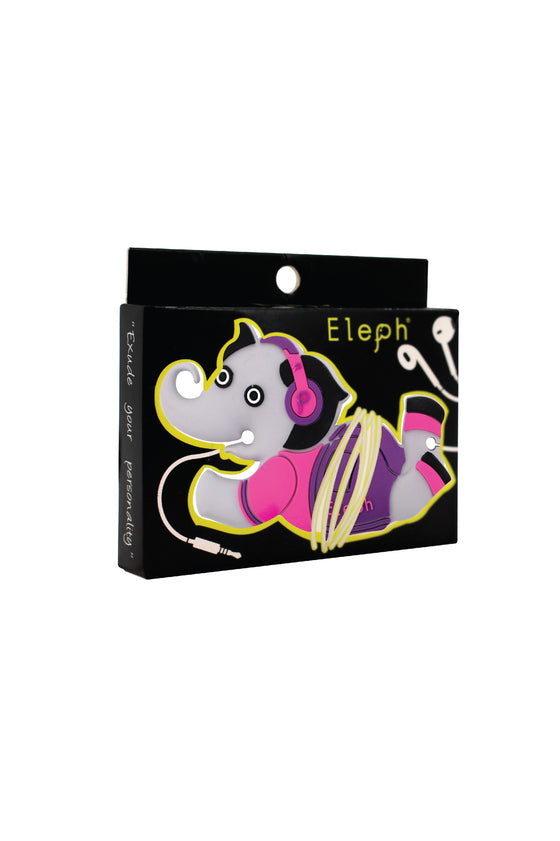 ELEPH EARPHONE : Pink