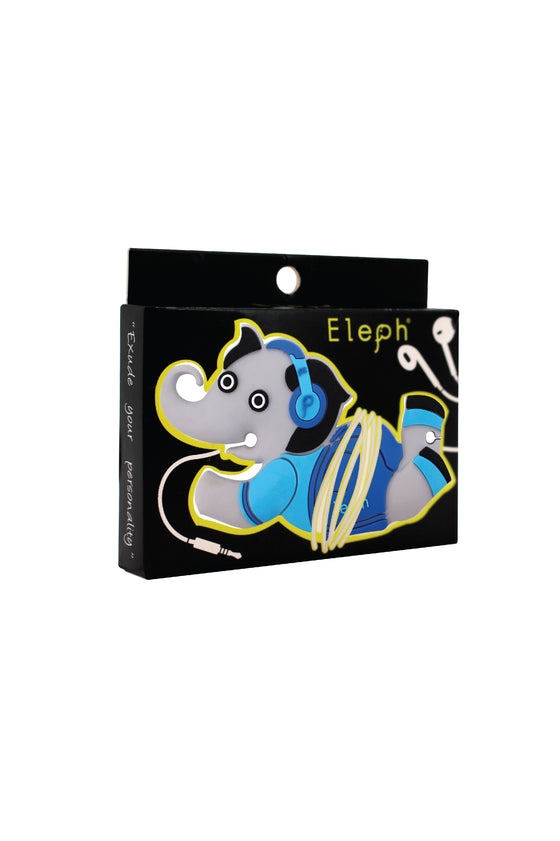 ELEPH EARPHONE CHILL : Blue