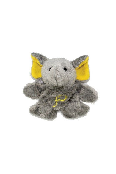 ELEPH FUR DOLL MAGNET : Yellow
