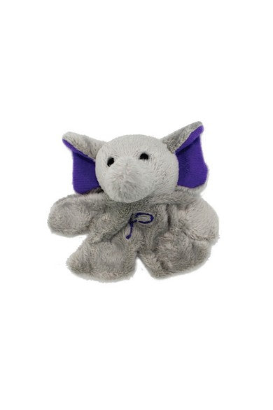ELEPH FUR DOLL MAGNET : Purple