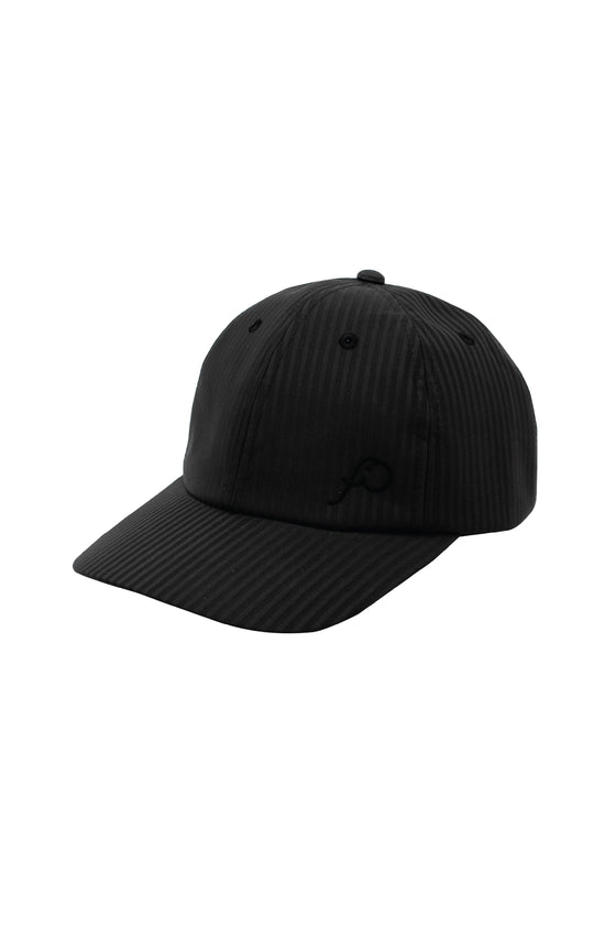 ELEPH PLEAT CAP : Black