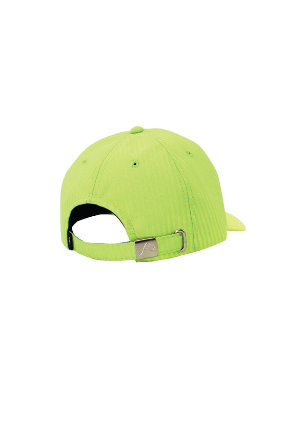 ELEPH PLEAT CAP : Lime