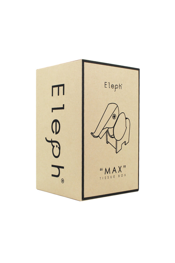 ELEPH MAX TISSUE BOX : White