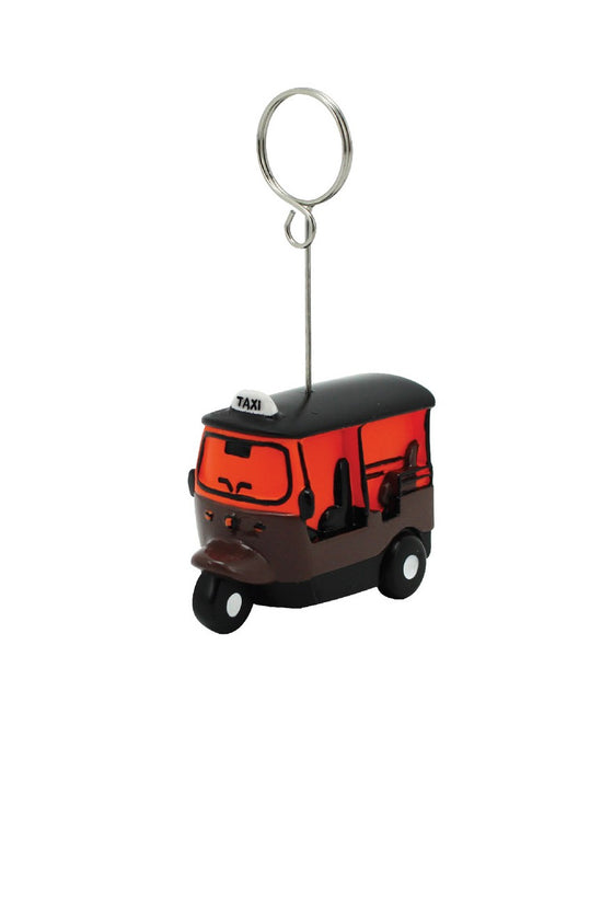 TUK TUK CLIPNOTE RESIN : Orange / Brown
