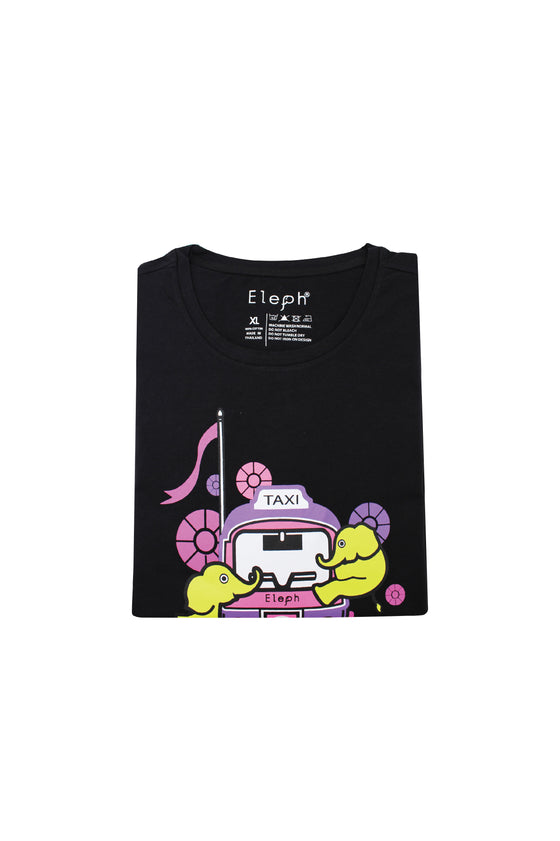 TUK TUK T-SHIRT : Black