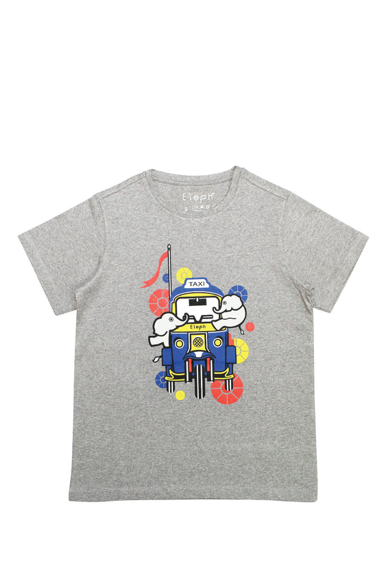 TUK TUK T-SHIRT : Grey