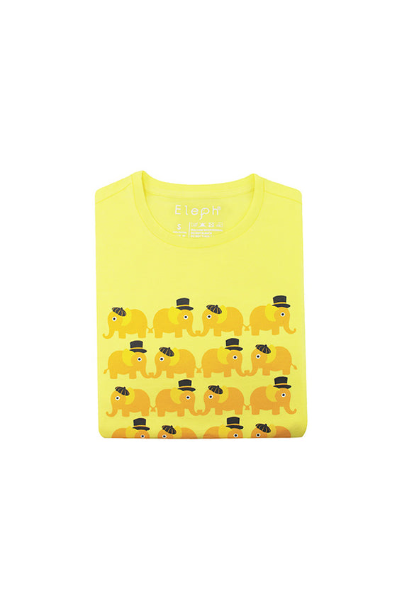 ELEPH T-SHIRT 4X5 : Yellow