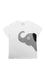 ELEPH T-SHIRT NECK SIDE : White/Grey