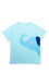 ELEPH T-SHIRT NECK SIDE : Light Blue/Blue