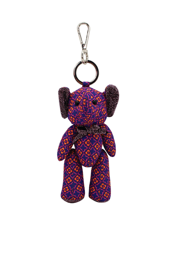 ELEPH DOLL KEY RING KAJUNG : Purple/ Pink, Onange