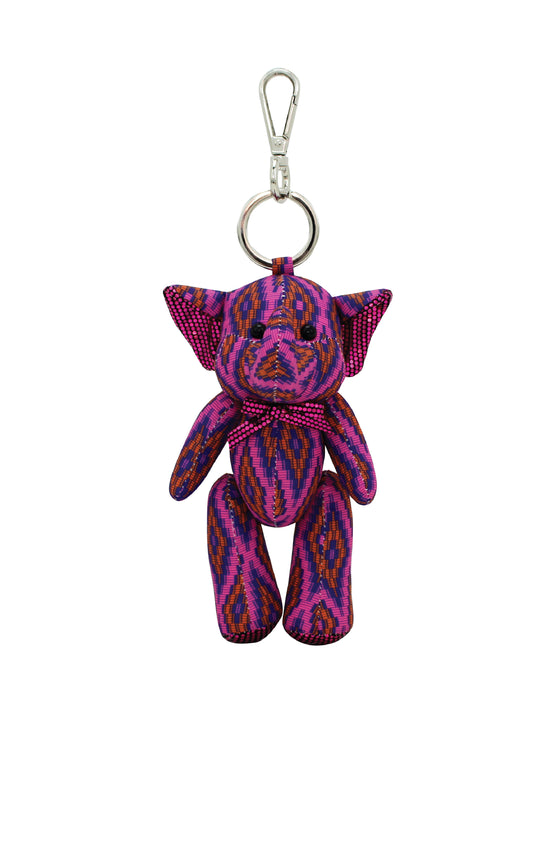 ELEPH DOLL KEY RING MUDMEE : Purple/ Pink, Onange